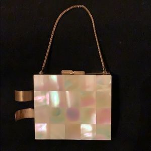 Accessories - Vintage Mother of Pearl Compact Purse